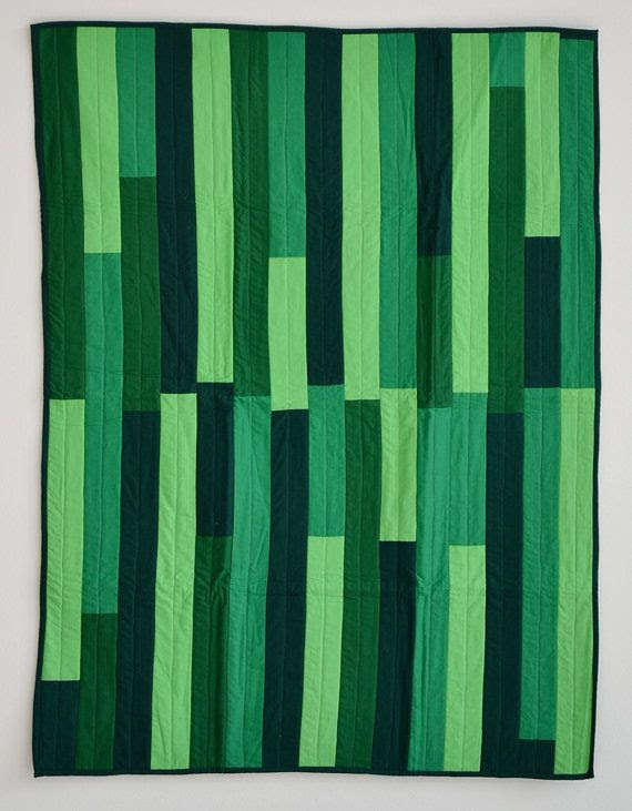 Parallel Greens Quilt