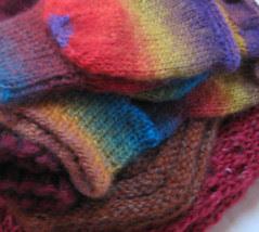 christmas knitting 2009