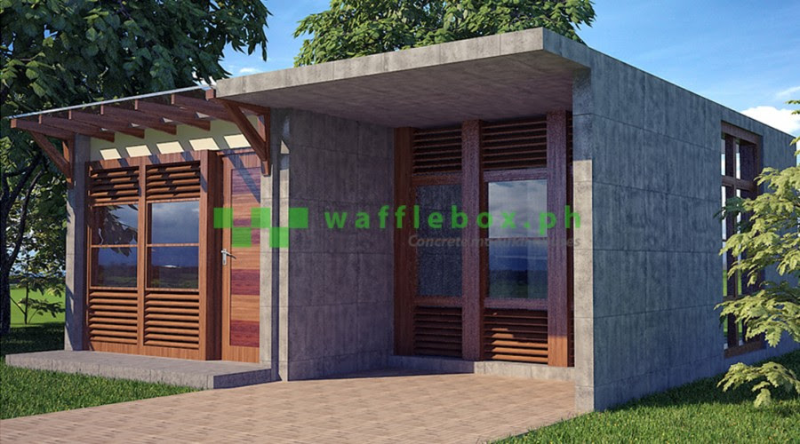 Waffle Box Building Technology :LESS COST , MORE VALUE - Cheap , durable , expandable , transferable , green and sustainable , resilient , fast , flood proof , typhoon proof , and can be insulated