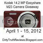 Kodak Camera Giveaway