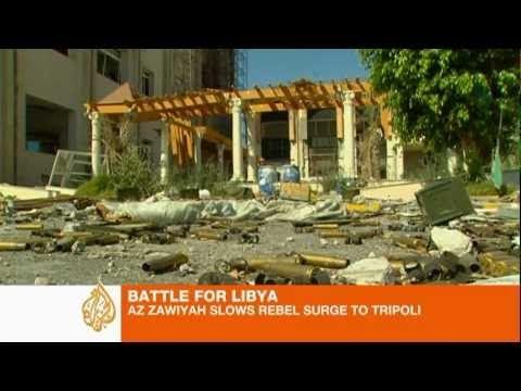 Forças do ditador Gaddafi encolhem em todas as frentes de batalha e o fim de 41 anos de ditadura está próximo