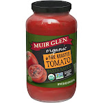 Muir Glen Organic Pasta Sauce, Fire Roasted Tomato - 25.5 oz