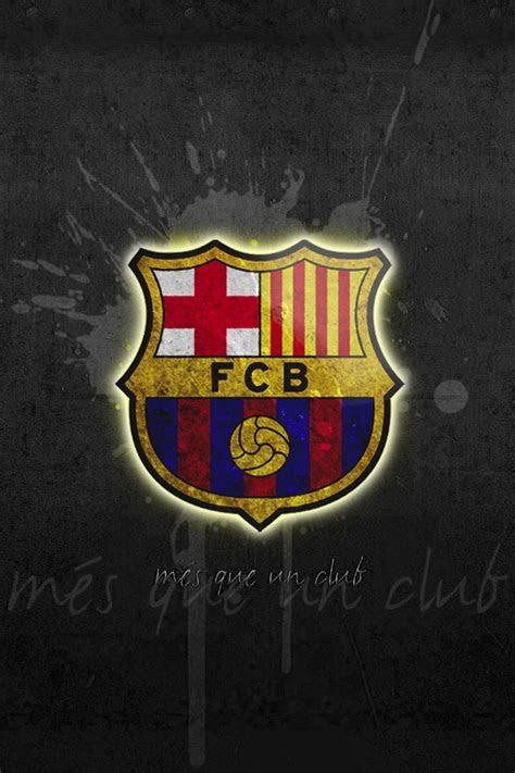 fc barcelona logo iphone wallpaper hd