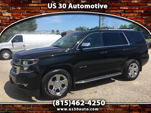 Used 2015 Chevrolet Tahoe for Sale in New Lenox IL 60451 US 30 Auto Sales