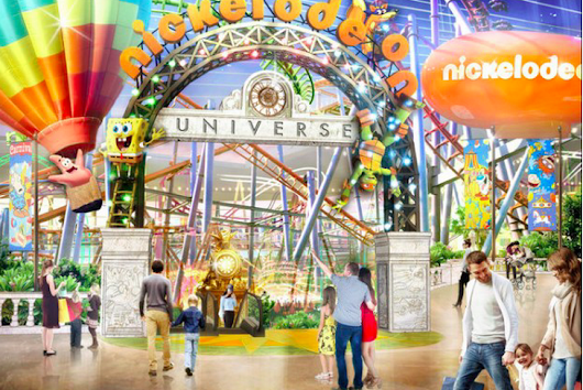 New Nickelodeon Universe Theme Park Coming to New Jersey - Tourist Meets Traveler