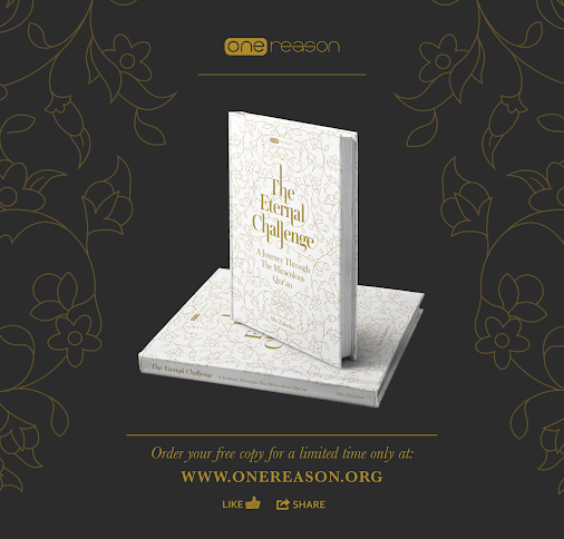 You can order your free copy of this unique book, providing a journey through the Qur'an from http:/...
