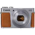 Canon PowerShot G9 X Mark II 20.1 MP Compact Digital Camera - 1080p - Silver