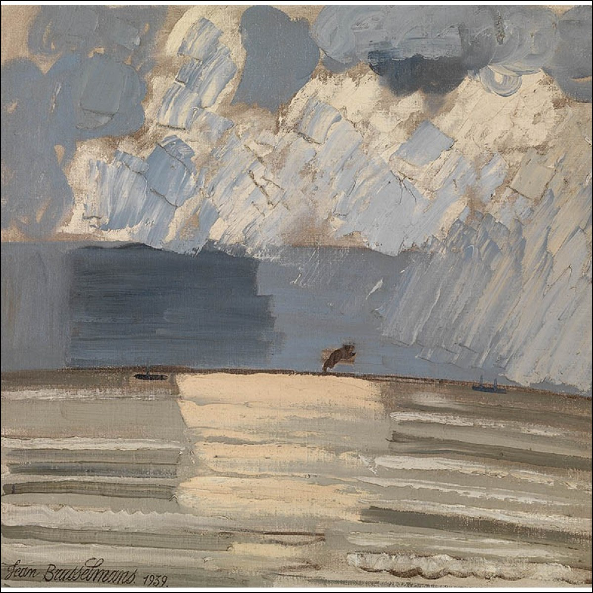 amare-habeo:  Jean Brusselmans (Belgian, 1884-1953),Noordzee (North Sea), 1952.