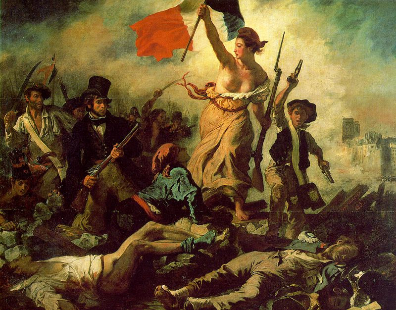 French Revolution Painting Liberty