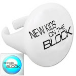 New Kids on the Block Blinking Ring