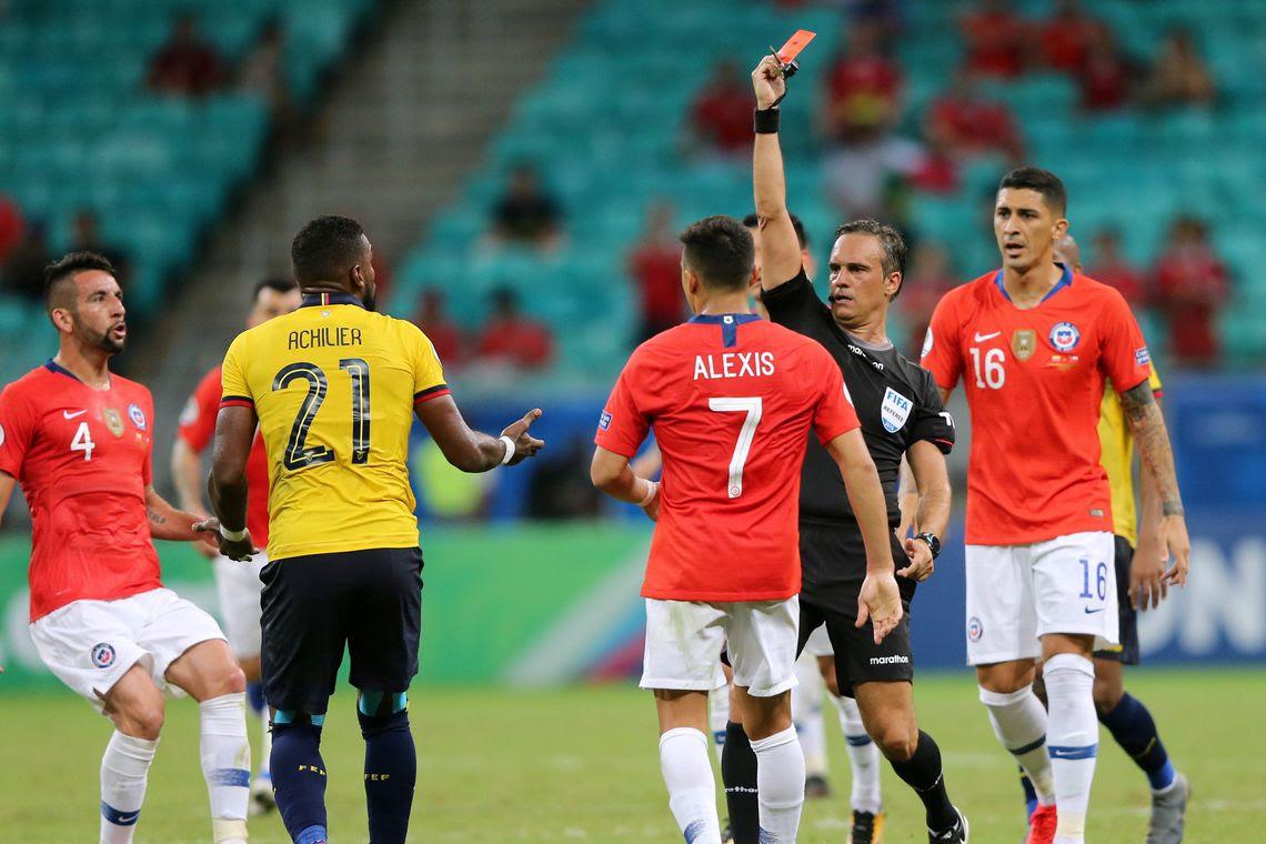 Chile e Equador jogam em Salvador pela Copa América