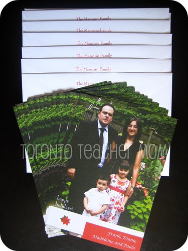 Storkie Christmas Photo Cards