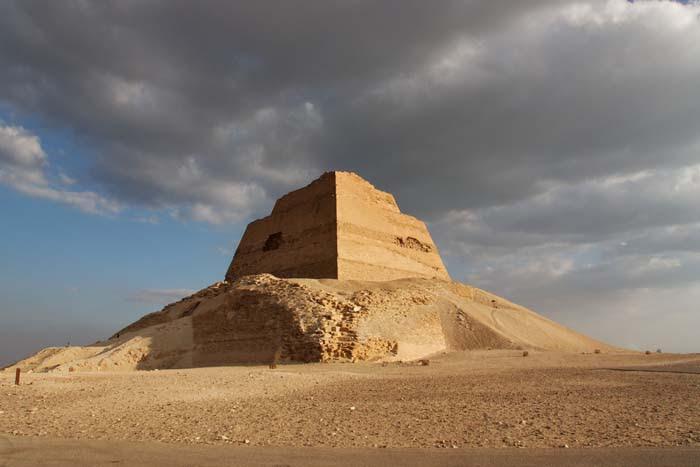 King Snefru's Pyramid at Meidum
