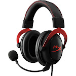 HyperX - Cloud II Pro Wired Gaming Headset - Red