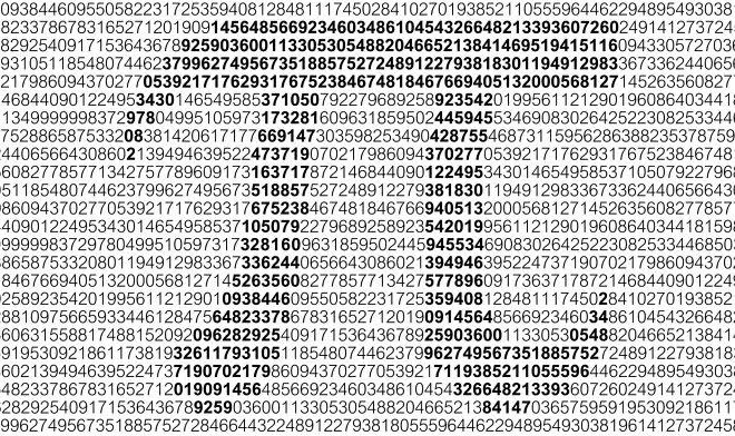 Новый мировой рекорд: число Пи рассчитали до 62,8 триллиона знаков