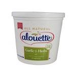Alouette Garlic & Herb Spreadable Cheese - Bulk (4.5 lbs, 2 Per Case)