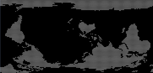 ASCII art map of the World: different point of view | SAP Blogs