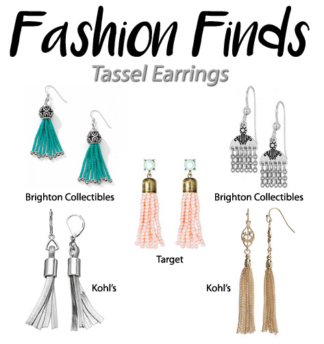 Fashion Finds: Tassel Earrings | Style Through Her Eyes