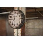 Metal New York Clock