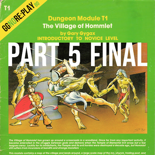 80 – ggnoRE:PLAY – The Village of Hommlet (Part 5 Final)