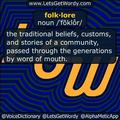 folklore 11/11/2017 GFX Definition