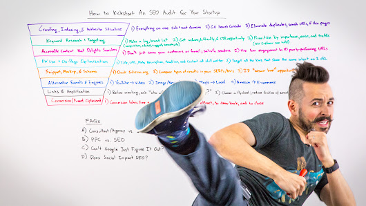 How to Kickstart an SEO Audit for Your Startup - Whiteboard Friday