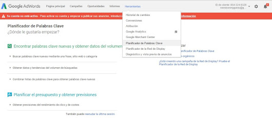 Google Adwords y artículos optimizados