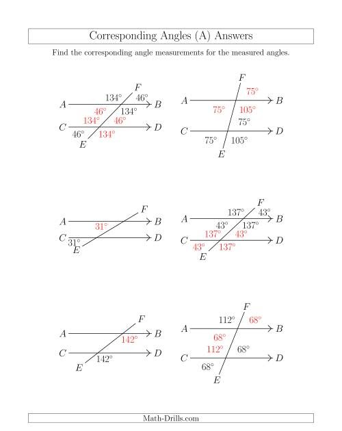 29 Angle Relationships Worksheet Answers - Worksheet ...