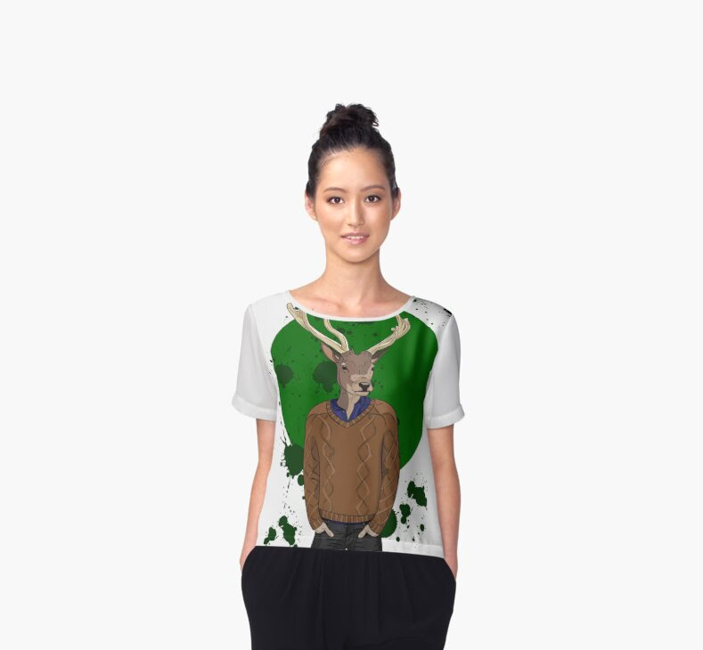cloth, t-shirt, top, woman, dress, shop, chifon, animal,anthropomorphic,anthropomorphism,autumn,body,boy,brown,casual,christmas,christmas,colorful,deer,doodle,face,fashion,graphic,green,head,hipster,horns,human,ink,knitting,knitwear,line,look,male,man,merry,modern,new,pullover,splash,stag,sweater,trend,trendy,urban,vector,winter,
