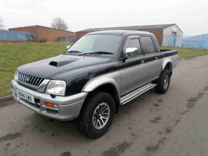 Mitsubishi L200 2.5. Mitsubishi car from United Kingdom