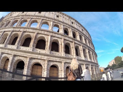 Cool things to do in VENICE & ROME Go Pro Travel video Italy