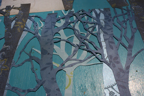 Trees, close up