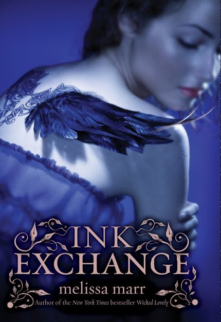 ink exchange by melissa marr reprint UK cover