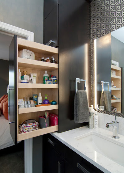 10 Ways to Create More Bathroom Storage
