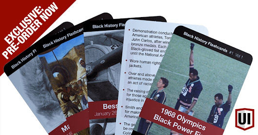 Black History Flashcards, Vol 1 – Pre-Order | Urban Intellectuals Store