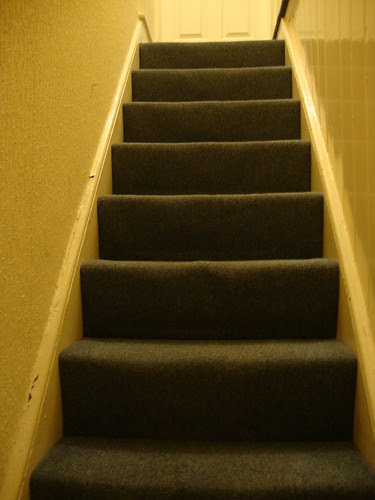 The picture I took of Pete's stairs