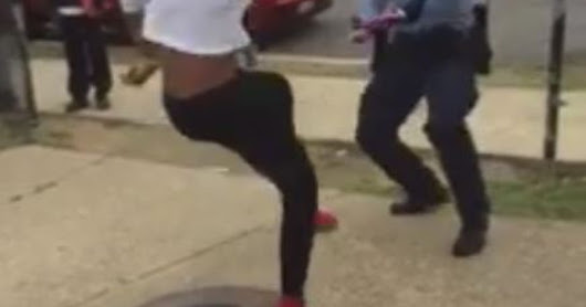 D.C. police officer battles local teen in dance off