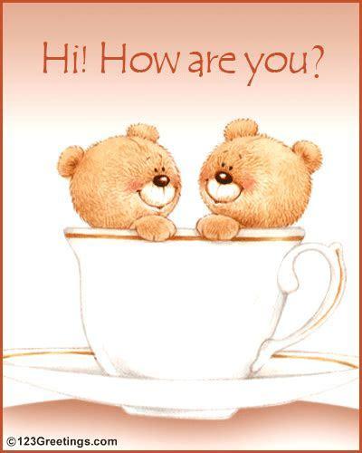 Send A Hi! Free Teddy Bears eCards, Greeting Cards   123