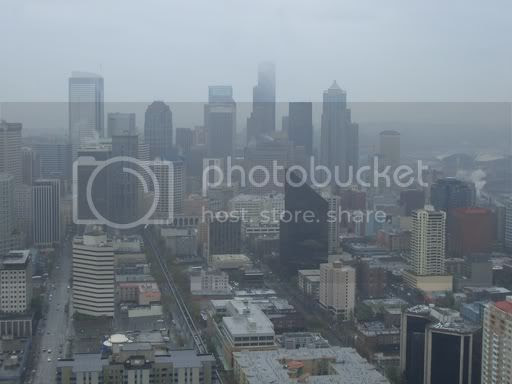 Seattle on a rainy day