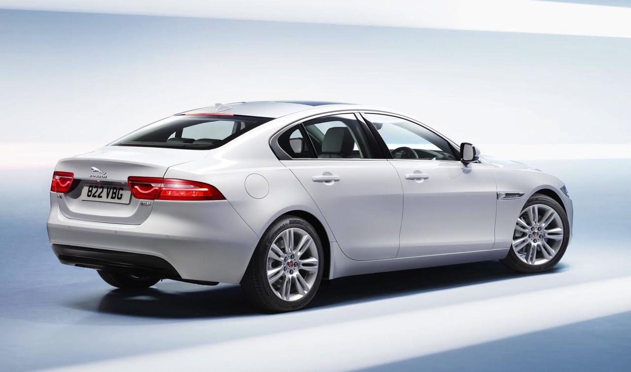Jaguar XE officially unveiled at 2014 Paris Motor Show ...