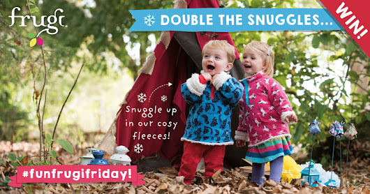 #FunFrugiFriday! WIN Double the snuggles!