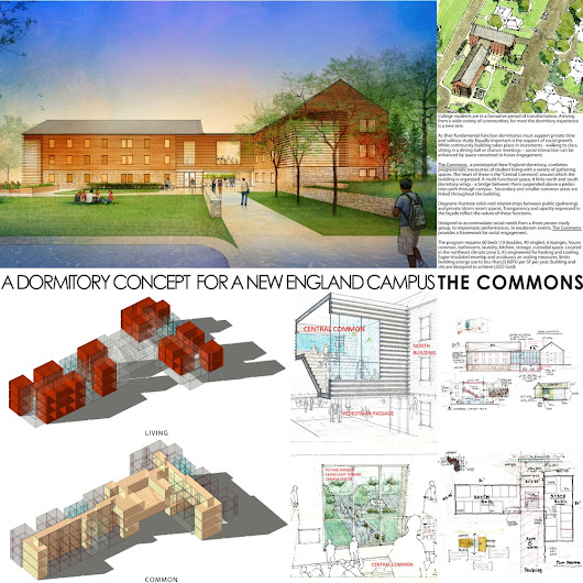 College Dormitory Concept - Competition Entry