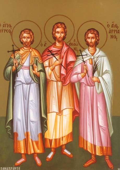 ST. THYRSUS, Martyr