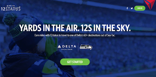 Delta's 12status is back for the 2018 NFL Season - Gate to Adventures