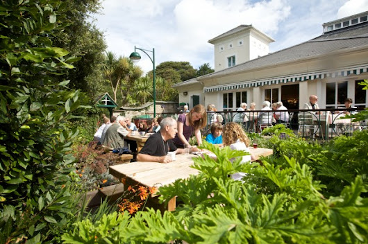 Top Places In Cornwall To Eat In The Garden | myCornwall