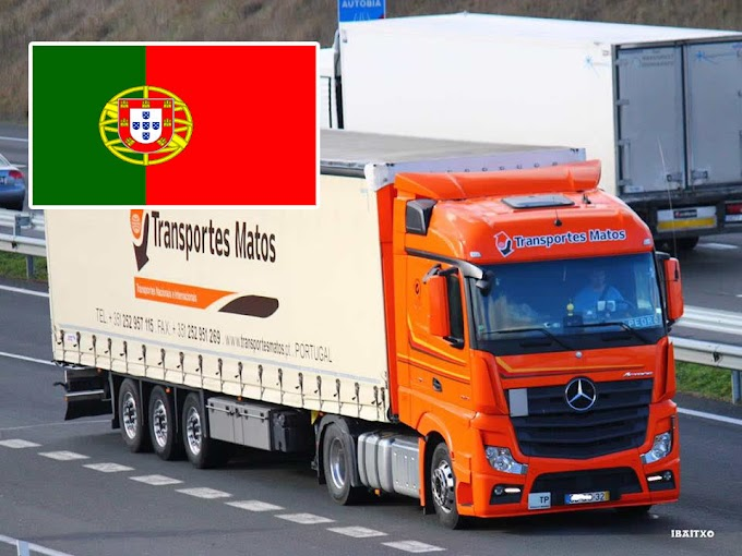 Quanto ganha em média um motorista de caminhão em Portugal