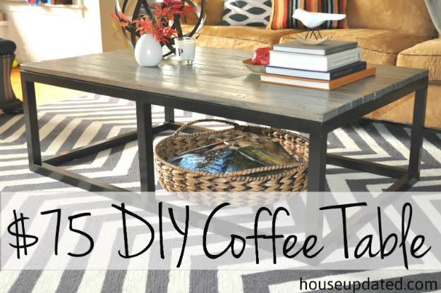 $75 DIY Coffee Table