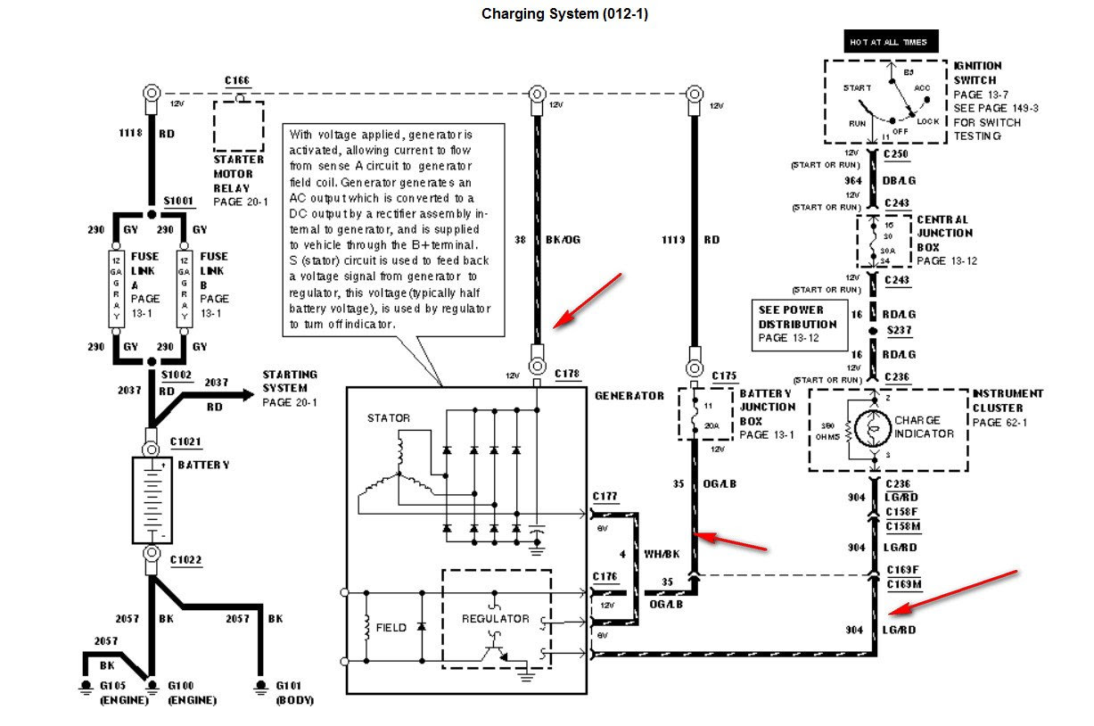 1991 Ford Truck Alternator Wiring Diagram 2001 Ford Mustang Fuse Box Bege Wiring Diagram