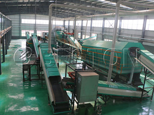 Municipal Solid Waste Sorting Machine - Waste Sorting Plant Price