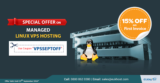 Special Offer on eUKhost Managed Linux VPS Hosting - eUKhost Official Web Hosting Forum